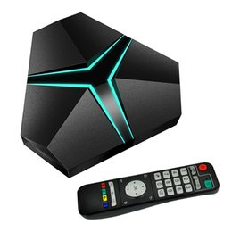 Mezzo di ferro online-Magicsee Iron + Amlogic S912 Octa Core 3G 32G Android 6.0 TV Box 2.4G / 5.8G WiFi suppot Aggiornamento OTA Lan 1000M BT4.1 Media Player 4K