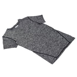 Wholesale Wholesale Speed Covers - Wholesale- Cationic tights fitting high-speed shirt men short-sleeved men shirt brand clothing slim fit shirt sportwear crossfit print XXL