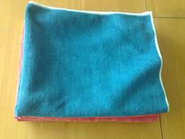 Wholesale Floor Waxing - 50X60cm 400gsm Microfiber Car Clean Towel Floor Towel Microfibre Detailing Polishing Scrubing Waxing Cloth Hand Towel Heavy Towels Free Ship