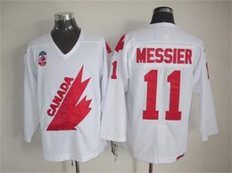 Wholesale Ken Dryden Jersey - Mens\' Retro 11 Mark Messier 12 Jarome Iginla 19 STEVE YZERMAN 21 STAN MIKITA 28 BOBBY CLARKE 29 KEN DRYDEN Vintage Throwback Hockey Jerseys