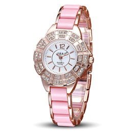 Wholesale Upscale Dresses - Geneva Shuangbao brand new diamond ladies watch factory direct wholesale upscale Dress Watch Bracelet Watch