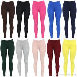 Wholesale Sexy Hot Leggings - Hot Sale Sexy Women's Fitness Leggings Girls Slim Trousers High Elastic Comfortable Skinny Pencil Pants for Women Wholesale