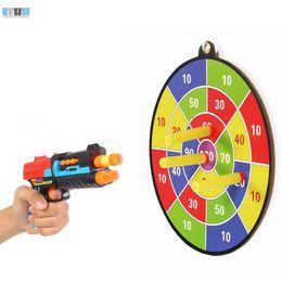 Wholesale Wholesale Dart Boards - EFHH Soft Bullet Scores Dart Board Sucked Type Toy Gun Target for All Soft Bullet Gun