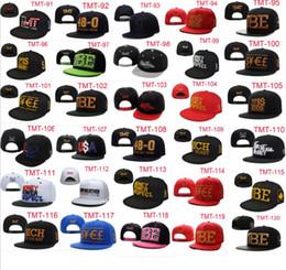 Wholesale Tmt Snapback Wholesale - Fashion TMT Snapback Hats Brand Embroidered MLB Team Baseball Caps Unisex Classic Bboy Sports Caps Free DHL