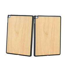 Wholesale Tablets Sell China - Best Selling Tablet Case For Ipad 6 Smart Cover Real Natural Walnut Wooden Tablet PC Cases For Ipad Air 2
