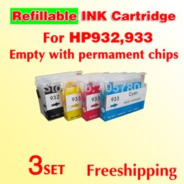 Wholesale Ink Cartridge Hp 932 - wholesale 3set High quality 932 refill cartridge HP932 refill ink cartridge 7610 compatible for 6100 6600 7612 6700 7610 7110