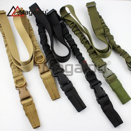 Wholesale Two Point Bungee Slings - Magaipu Hot Sale High Quality Canvas Two Point Tactical Sling Adjustable Bungee Rifle Gun Sling Strap System