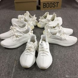 Wholesale Tennis Wholesalers - Y 350 Boost V2 Triple Cream White Core Black Red Mens Shoes CP9654 Zebra Sneakers Size 5-12