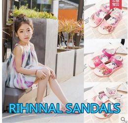 Wholesale Best Summer Sandals - lucus store with box newest women RLHANNAL sandals best quality women size 36-40