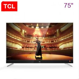 Wholesale Hotel Panel - TCL 75 inch slim alloy Harman Kardon intelligent flat panel TV 4K ultra-high-definition theater TV hot new product!