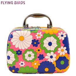 Wholesale Fly Box Case - Wholesale- FLYING BIRDS women cosmetic cases Capacity Large Cosmetic Bags Box Makeup Bag Beauty Case Travel Jewelry Display Case LM3603fb