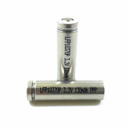 li 3.7v tablet Скидка Клетки батареи LiFePO4 3.2 в 10370 130ма технология IQOS электронная сигарета аккумулятор высокое LFP10370P ток разряда 3-5С для технология IQOS электронная сигарета