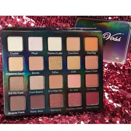 Trucco di marca viola online-Ombretto Violet Voss Holy Grail Pro Palette Brands Eyeshadow Makeup Kit Occhi Cosmetici Make Up Set di strumenti 20 colori
