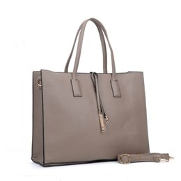 Wholesale Cheap Crossbody Bags - New Simple Casual Woman Handbags Plain OL Business Tote High capacity Crossbody Shoulder Bags Zipper Bag Cheap VK6022