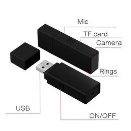 Hiçbir Delik 1080 P Usb Disk kamera Full HD USB Flash Sürücü DVR mini kamera U-Disk video Recoder nereden usb flash stickler tedarikçiler