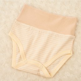 Wholesale Diaper Panties - Baby color cotton triangle underwear, cloth diapers, comfortable soft breathable, infants and young children under the urine Panties