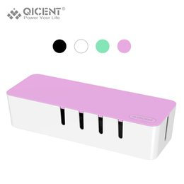 Wholesale Wire Power Cable Box - Wholesale- QICENT Storage Box, Cord Management Power Cable Box for Electric Wires & Power Strips - Purple