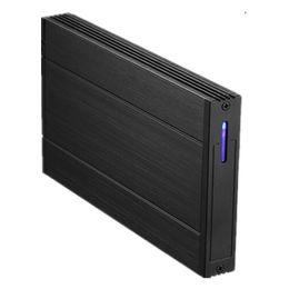 "Externer fall hdd 3.5 sata online-Großhandel - 2,5 ""Zoll USB2.0 HDD Gehäuse Dual HDD Fall Festplattenlaufwerk Schnittstelle SATA External Storage HDD Gehäuse Aluminium Box"