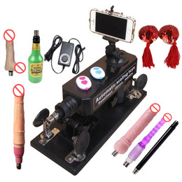 Wholesale Making Sex Male - Sex Machine with Bluetooth Photograph and Video Swept,Male and Female Masturbation Telescopic Automatic Making LOVE Machine with Accessories