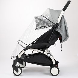 Wholesale Cheap Babies Coats - Wholesale- Babytime Universal baby stroller accessory Baby carriages rain cover good quality cheap price baby rain coat car-covers R01