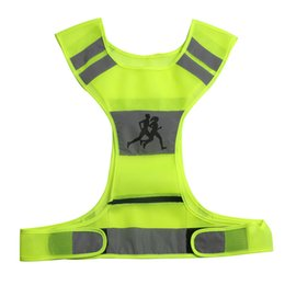 Wholesale Motorcycle Fit - Reflective Vest Safety & High Visibility for Running Jogging Walking Cycling Fits over Motorcycle Jacket Running Shirt Sports Outdoor Gear