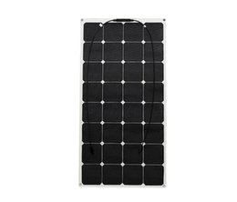 Wholesale Lead Farm - Solarparts 100w flexible solar panel cell stystem for batterty boat  RV home farm power supply car LED light charger