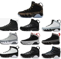Wholesale Charcoal Air - New Air Retro 9 Basketball Shoes Sneakers 9 OG Space Jam Men Retros 9s Copper Statue Anthracite Baron Charcoal Johnny Kilroy J9 Sneaker