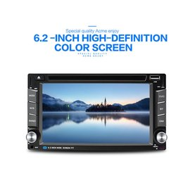 Wholesale Double Din Car Radio Universal - Car DVD car player WINCE6.0 double din General car radio 6.2 inch display Capacitive touch screen