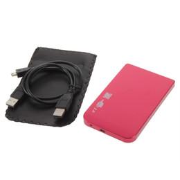 """Wholesale Laptop Drive Enclosure - Wholesale- 480Mbps Enclosure Case Box USB 2.0 for Laptop 2.5"""" SATA Hard Drive"""