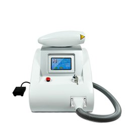 Wholesale Hair Laser Power - 2000mj high power protable Q switch nd yag laser tattoo removal beauty machine with red infrared aim beem