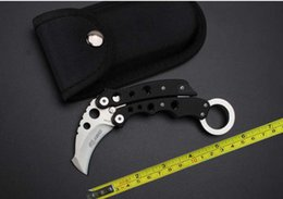 Wholesale cnc ship - FREE shipping NEW Claw Karambit CNC G10 Handle 440 Steel Folding Pocket Claw Knife SR199C