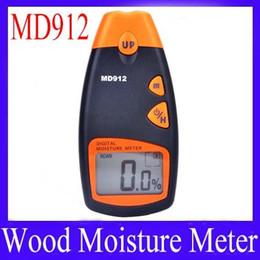Wholesale Moisture Measuring - Wholesale- digital wood moisture meter MD912 Measuring Range: 2%~60% MOQ=1 free shipping