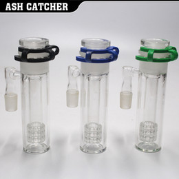 Wholesale Glass Ash - 2017 New ashcatcher Adjust Glass ash catcher 3 parts 18.8MM not glass bong free shipping