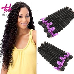 Wholesale Micro Ring Hair Weave - unprocessed virgin malaysia brazilian deep wave hair boundle loop micro ring hair extension freeshipping virgin hair hairme wholesalor