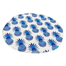 Wholesale wholesale yoga mats - Wholesale-2016 Round Beach Pool Home Shower Towel Blanket Table Cloth Yoga Mat Nov15