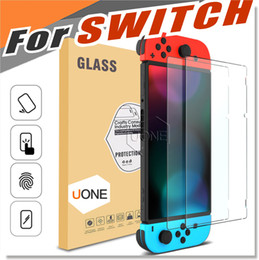 Wholesale Tempered Glass Switch - For Nintendo Switch Screen Protector HD Clear Anti-Scratch Ultra Thin 0.32mm HD Clarity Glass Scratch Proof Tempered glass Version 1.0 2017