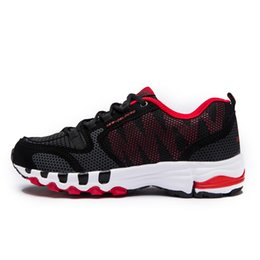 Wholesale Fitness Trainers Shoes - Brand Men's Cushion Fitness Running Casual Shoes Woman Flat Breathable Schoenen Unisex Sneakers 2017 Speed Star Sports mens Trainers