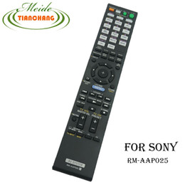 Wholesale Rm Video Player - Wholesale- New Original For Sony AV SYSTEM Theater RM-AAP025 Remote Control for STR-DA2400ES mando a distancia