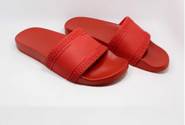Wholesale Chinese Sandals - 2017 European and American new summer a Chinese character slippers 3d head of the American dusha plain plastic casual sandal sanda