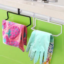 Wholesale Rail Drawer - Stainless Steel Cabinet Hanger Over Door Kitchen Hook Towel Rail Hanger Bar Holder Drawer Storage Bathroom Tools ZH864