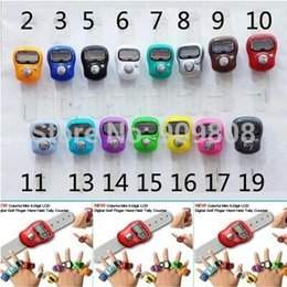 Wholesale Tally Counter Wholesale Price - Wholesale-free shipping 15 X Mini Digital Electronic Muslim Finger Ring Tally Counter Tasbeeh Tasbih Golf &Temple Wholesale Low Price
