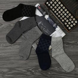 Wholesale Man S Winter Socks - High quality The new men 's autumn and winter cotton in the cotton cotton autumn and winter socks NW038