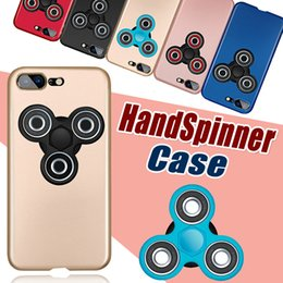 Wholesale Hard Case For Sale - 2017 Hot Sale High quality Hand Fidget Spinner PC Hard Matte Phone Case Rotatable Finger Spinner Coque Cover Cases For iPhone 8 Plus 7 6 6s