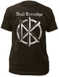 Wholesale Official Logo - DEAD KENNEDYS - Old English - T SHIRT S-M-L-XL-2XL 3XL Brand New - Official T Shirt Cool O-Neck Tops Fashion Logo Printing