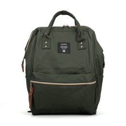 Wholesale Japan Style Canvas School Bags - New Casual Backpack Handbag Sport Japan anellos Camouflage Outdoor Packs Women Unisex Zipper Canvas Fashion School Bag VK5202