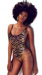 Wholesale Cheap Women S Thongs - Leopard print bodysuit thong girls swimsuit cheap swimsuits women swimming suit high cut thong monokini swimsuits one piece 2017