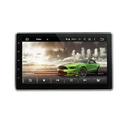 Wholesale Digital Player Mp4 Radio - 10.1 inch universal car DVD android 5.1.1 system quad core Capacitive multi-touch screen GPS IPOD BT Radio AUX IN DVR