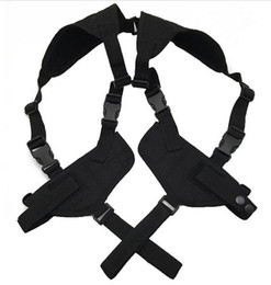 Wholesale Tactical Gun Pistol - EDC Left Right Hand Tactical Nylon Adjustable Double Concealed Under Arm Shoulder Holster Pouch for Draw Pistol Hand Gun