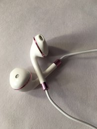 Wholesale Super Jacks - Super Deep Bass Stereo 3.5mm Jack In-Ear Wired Earphone with Volume Remote Control MIC Headset Headphone Earbuds for iPhone 5 6s Plus