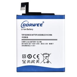 Wholesale Mah Battery Note - DORWEE New 3.8V BM46 Replacement Li-ion phone Battery 4000 mAh For Xiaomi Redmi Note 3 Mi Note3 Pro